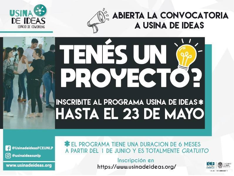 Convocatoria Usina de Ideas 2018